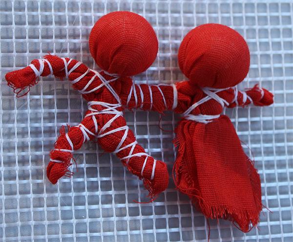 Как сделать куклу-неразлучника
