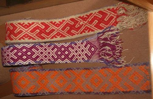 Обережная вышивка детской одежды славян