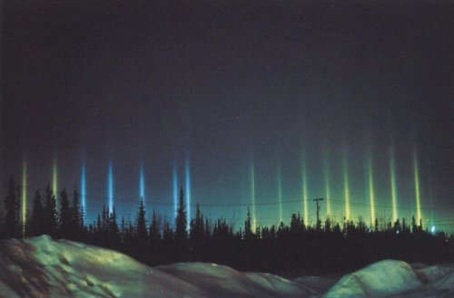 Невероятные световые явления