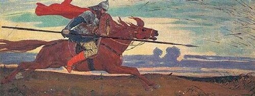 ГНЕВНЫЙ РЫК РОССА (или, как воевали наши Предки)