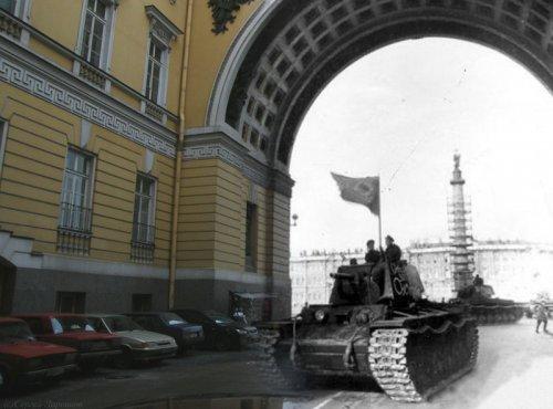 Санкт-Петербург. Тогда и сейчас...