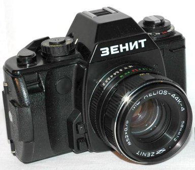 История русского фотоаппарата Зенит