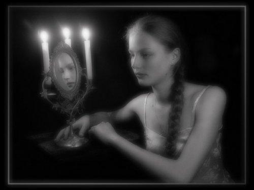 Зеркало в народных представлениях
