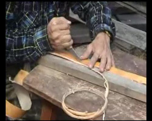 Лекция о плетении из бересты