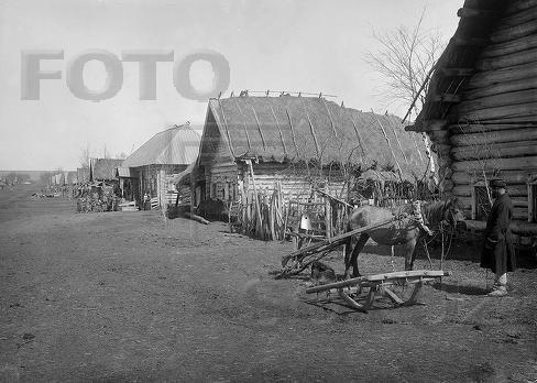 Крестьянский быт: жилище и хозяйственные постройки