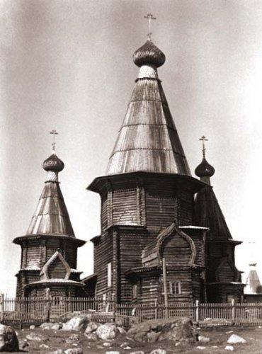 Русское деревянное зодчество. Храмы.