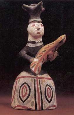 Каргопольская глиняная игрушка.