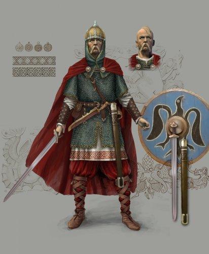 Попытка реконструкции внешности князя Святослава