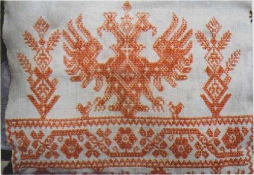 Значение двуглавого орла в русской народной вышивке