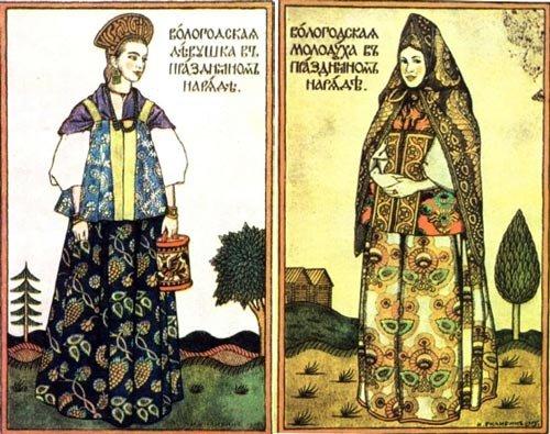 Русский народный костюм своими руками выкройка
