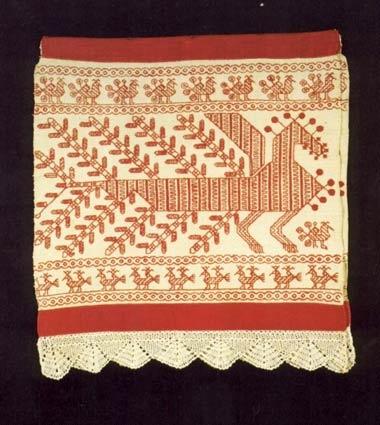 Орнамент для вышивки на поясе
