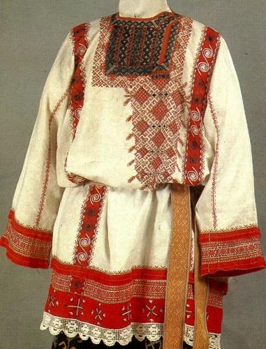 Странник.  Родник.  Традиционная славянская обережная вышивка.