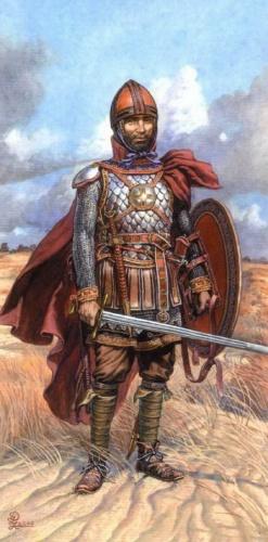 Новгородские воины времен Куликовской битвы