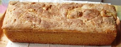 Рецепт бездрожжевого хлеба.