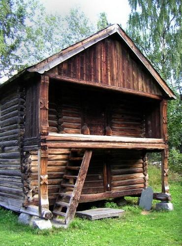 Влияние русского домостроительства на зодчество скандинавских стран