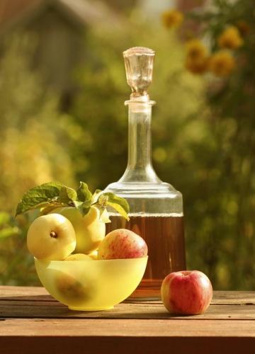 Яблочный сок - простой рецепт.