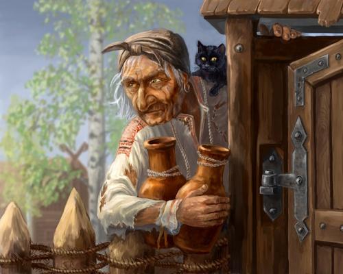 Несколько слов об избушке всем известной старушки