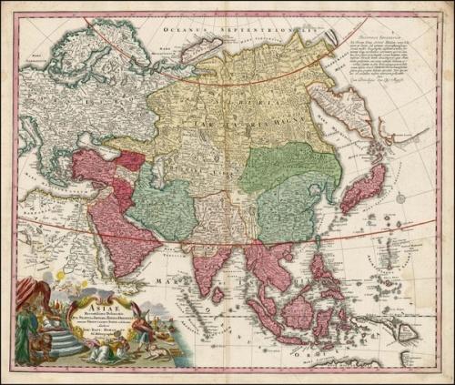 Карта, Тартария, Гранд Тартария