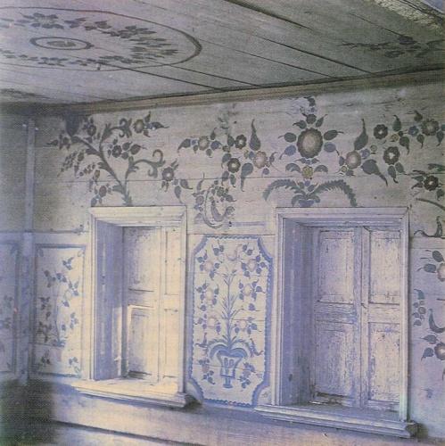 В а барадулин роспись избы на урале