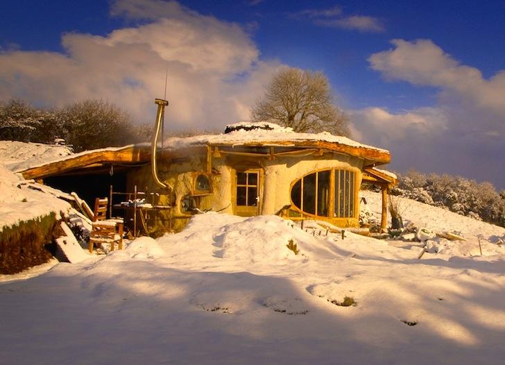 Хоббит-дом в Уэльсе