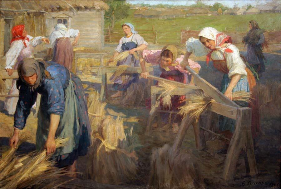Праздник урожая картины