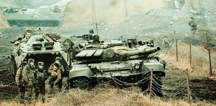 Боевое применение танка Т-72 » Перуница