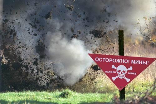 В Подольском районе нашли мину времен Второй мировой