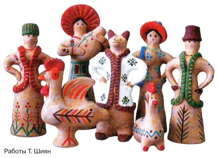Глиняные игрушки на руси 284