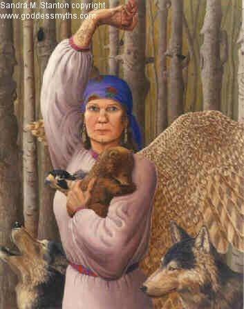 О Макоши, Вилах и белых кобылах