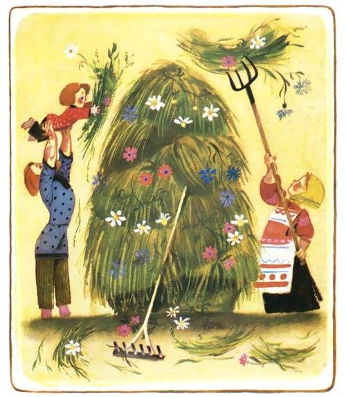 Народные пословицы с иллюстрациями для детей