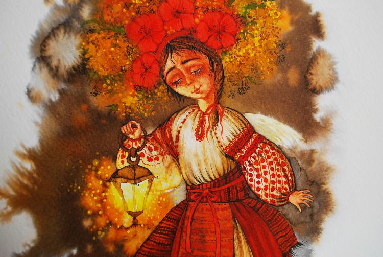 Неповторимый стиль в работах художницы с Украины Марины Михайлошиной