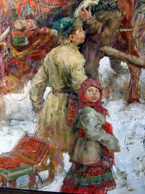 картины русские народные: