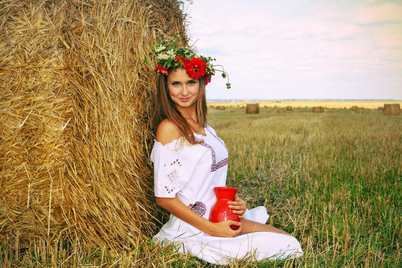 Простая русская девушка 1 фотография