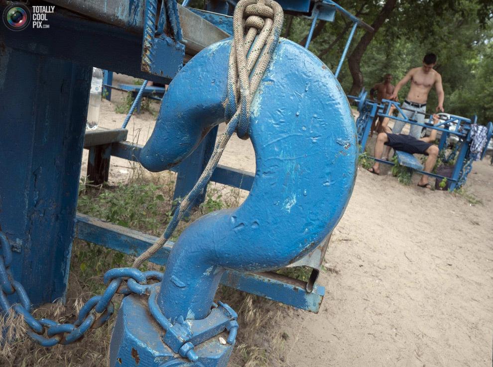 Суровая киевская качалка
