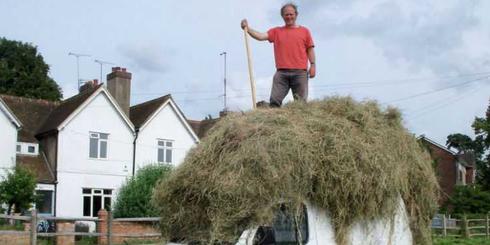 Фермер бросил вызов ипотеке - построил дом за 240 долларов