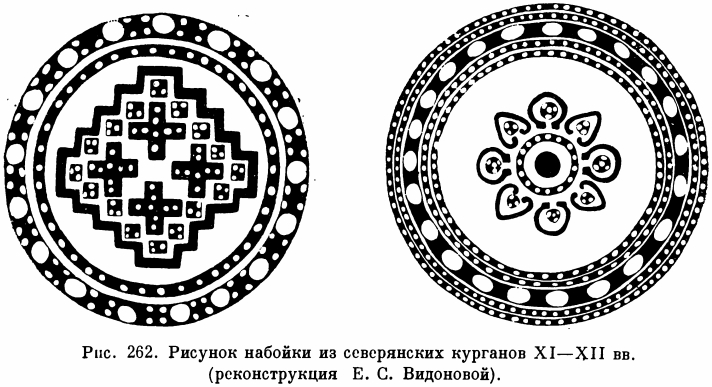 Схемы мордовского узора