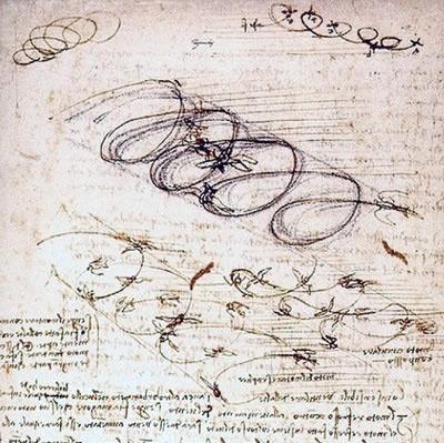 Проекты будущего в рисунках Леонардо да Винчи