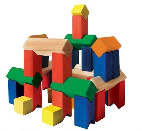 Обычно наборы кубиков состоят