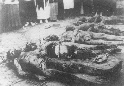 Красный запугивание во России. 0918-1923