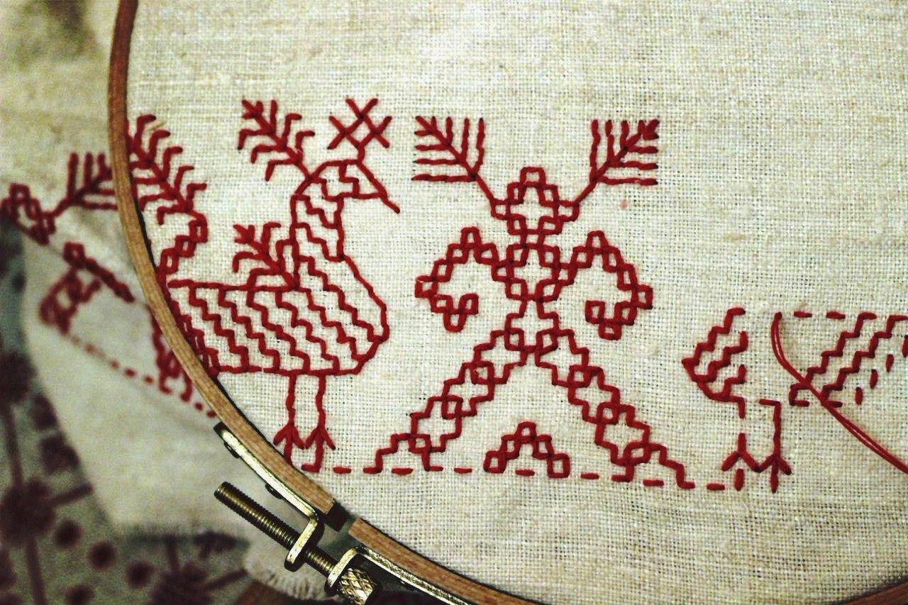 Русская народная вышивка особенности национального рукоделия (картинки) 96