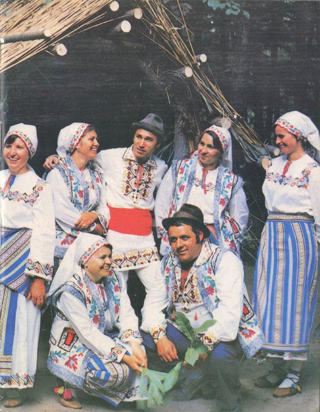 Этнографический танцевальный ансамбль Гидигичского Дома культуры (Страшенский район)