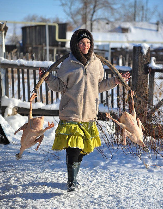 фото украйнськы сильскых женщын траханя