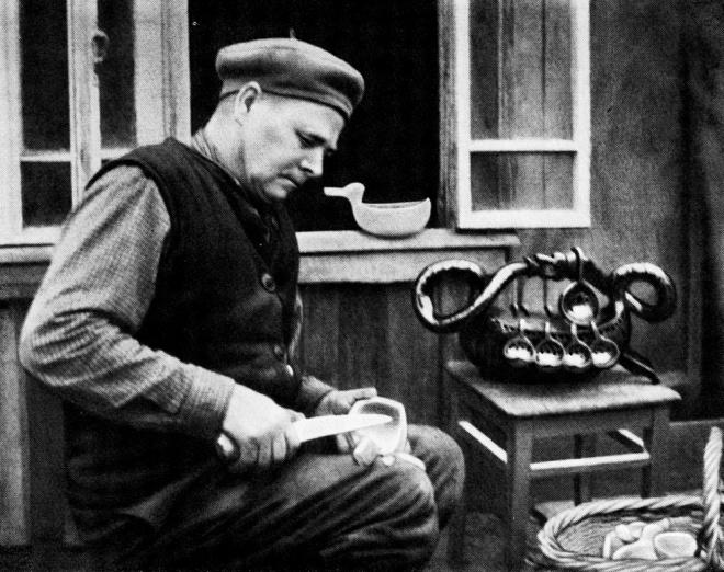 Ковшечник М.А. Угланов. Город Семенов