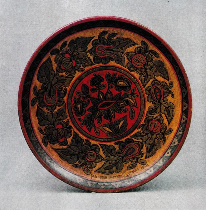 Декоративная тарелка. Начало XX века