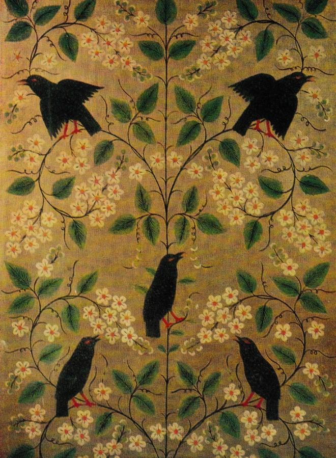 Весна. Деталь росписи портала. 1937