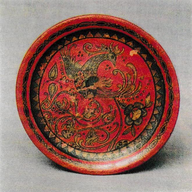 Декоративная тарелка. 1920-е гг.