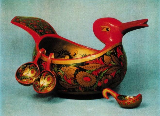 Ковш-утка с навесными ковшиками. 1970