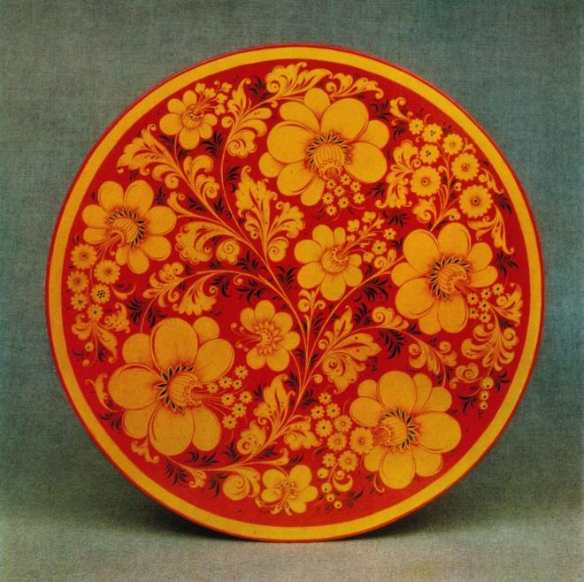 Декоративное панно. 1970