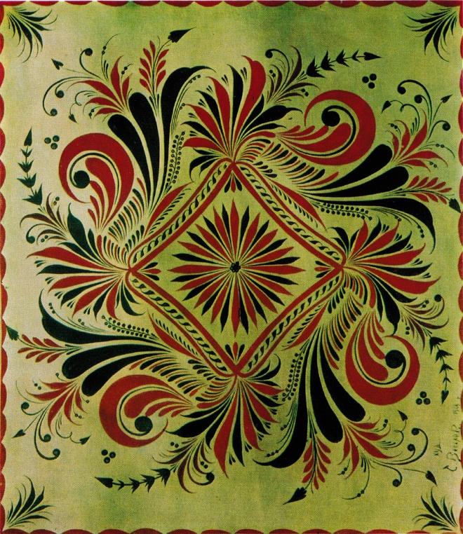 Декоративное панно. 1960-е