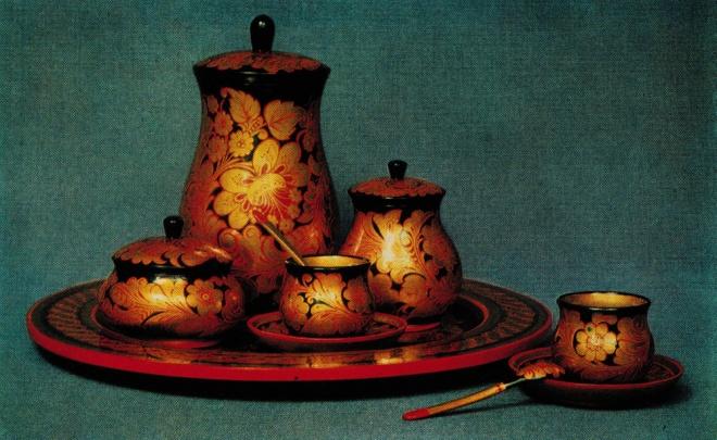 Кофейный набор. 1970